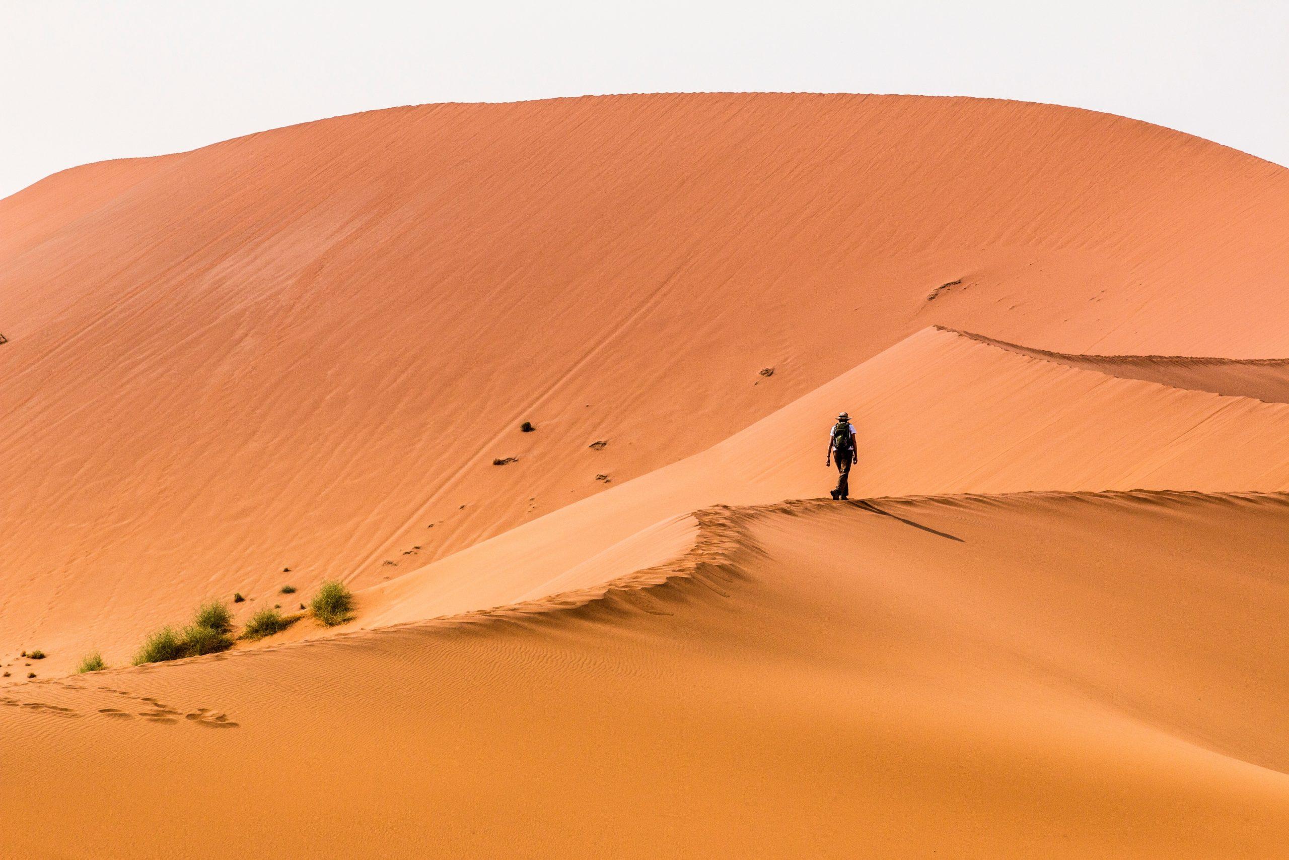 namibia, desert, sossusvlei, dune